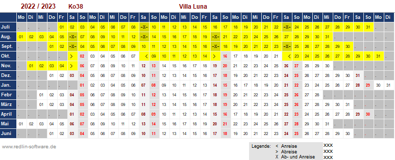 Ferienhaus - Villa Luna